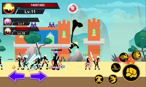 Stickman Hero - Pirate Fight Apk