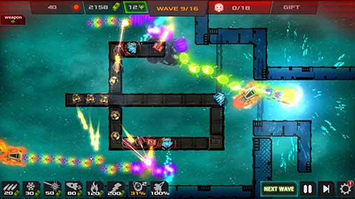 Strategy - Galaxy glow defense Apk