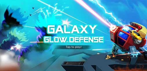 Strategy - Galaxy glow defense