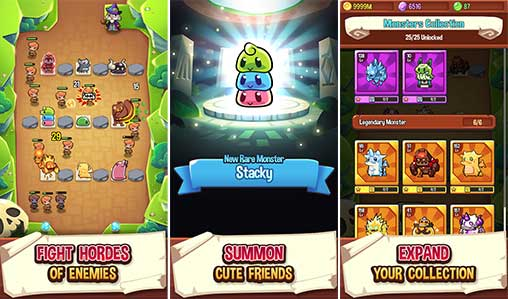 Summoner's Greed – Idle TD Apk