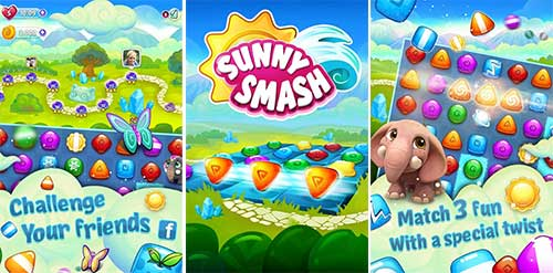 Sunny Smash – Puzzle Adventure Apk