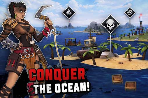Survival on Raft: Ocean Nomad - Simulator 1 60 Apk + Mod for