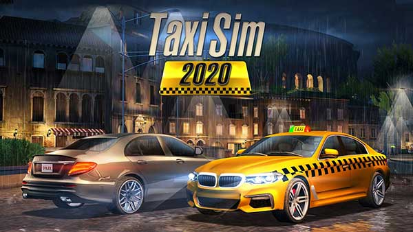 Taxi Sim 2020 Cover