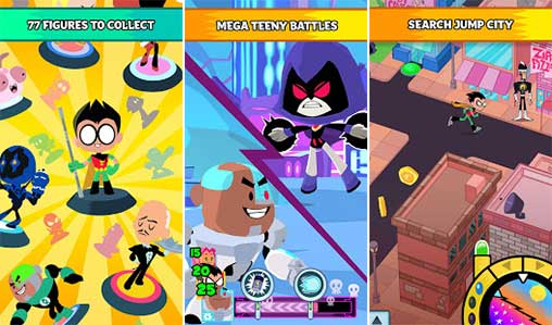 Teeny Titans: Collect & Battle Apk