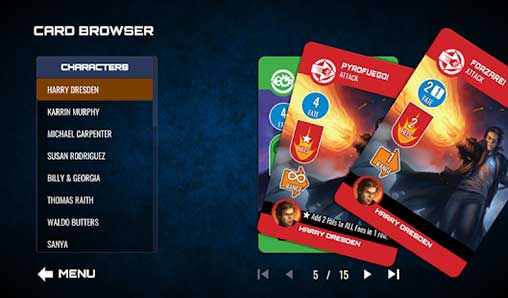 The Dresden Files Cooperative Card Game Apk