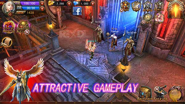The Exorcists 3D Action RPG Apk