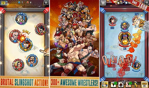 The Muscle Hustle: Slingshot Wrestling Apk