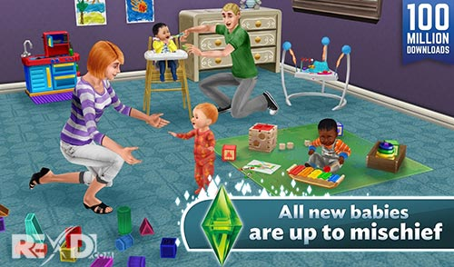The Sims™ FreePlay APK + DATA Android