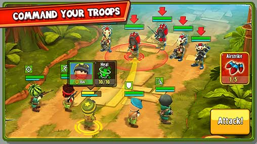 The Troopers: minions in arms Apk