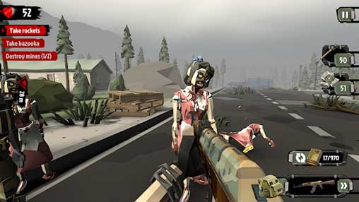 The Walking Zombie 2: Zombie shooter Apk Mod Revdl