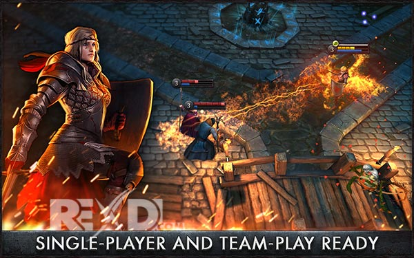 The Witcher Battle Arena Apk