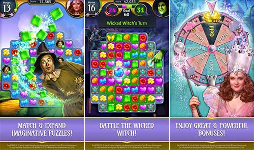 The Wizard of Oz Magic Match Apk