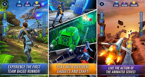 Thunderbirds Are Go Team Rush Apk