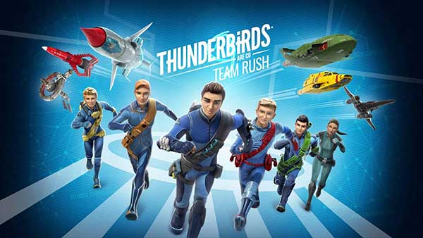 Thunderbirds Are Go Team Rush