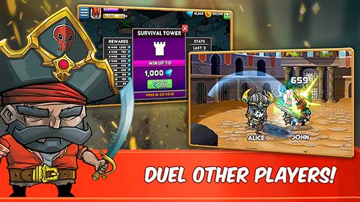 Tiny Gladiators Apk