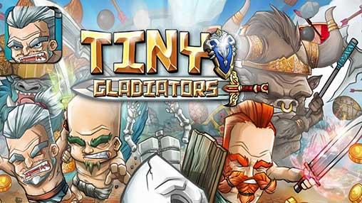 скачать игру tiny gladiators мод много денег