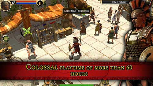 Titan Quest 1.0.20 Apk + Mod (Unlimited Money) + Data Android