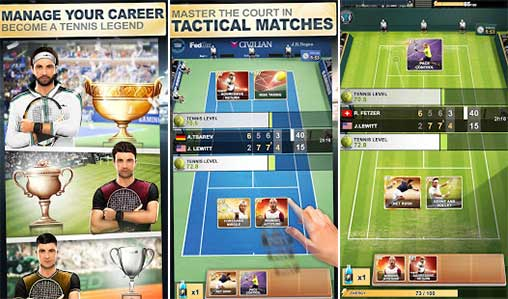 TOP SEED Tennis Apk