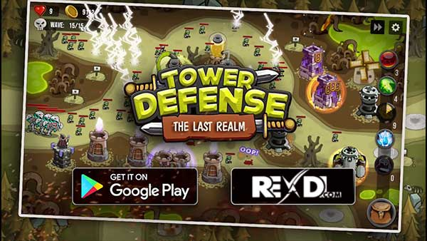 Tower defense: The Last Realm Mod