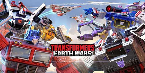 Transformers Earth Wars Apk Mod Revdl for Android