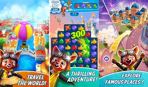 Travel Blast! 0 8 41 Apk Mod Lives Moves Android