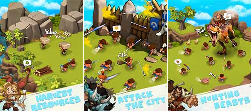 Tribes Age:Rise of Caveman Apk