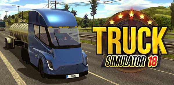 Truck Simulator 2018 : Europe 1 2 6 Apk + Mod Money + Data