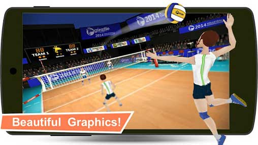 Volleyball Champions 3D 7.1 Apk + Mod Money for Android