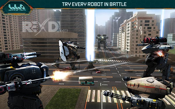 Walking War Robots Apk