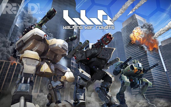 Rexdl.com Walking War Robots 3.8.0 Apk + Mod + Data for Android Revdl.com
