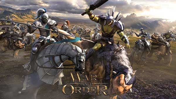 War and Order Cover