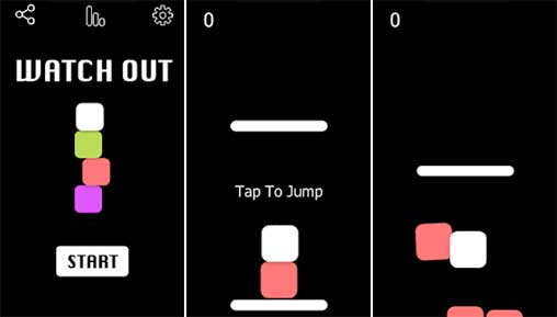 Watch Out - Endless jumping game Apk