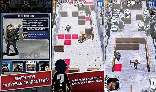Winter Fugitives stealth game Apk