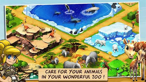 Wonder Zoo - Animal rescue Apk