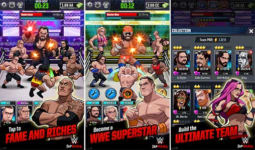 WWE Tap Mania 17811 22 1 Apk + Mod for Android