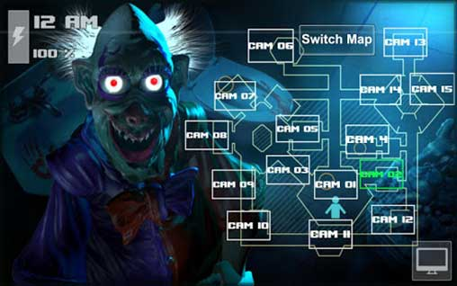 Zoolax Nights:Evil Clowns Full Apk