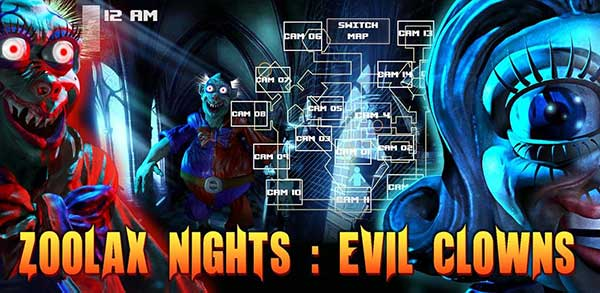 Zoolax Nights:Evil Clowns Full