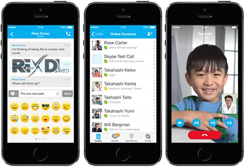 Skype for iPhone iPad iPod