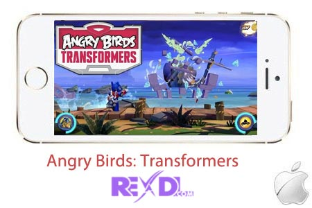 Angry Birds Transformers for iPhone iPad iPod