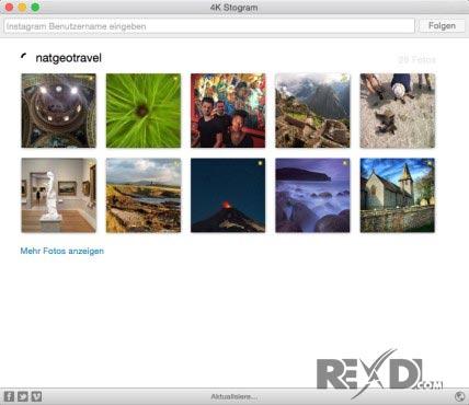 4K Stogram MacOSX - Free Instagram Downloader