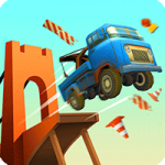 Bridge Constructor Stunts 1.4 Apk Full + Mod Unlocked