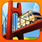 Bridge Builder Simulator 1.0 Apk + Data for Android