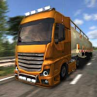 Euro Truck Driver Simulator 3.1 Apk + Mod + Data for Android
