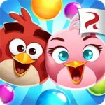 Angry Birds POP Bubble Shooter 3.7.1 APK + MOD Unlimited Gold + life