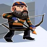 Winter Fugitives stealth game 1.4 Apk Mod Money for Android