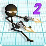 Gun Fu Stickman 2 1.17.1 Apk + Mod for Android