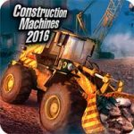 Construction Machines 2016 1.11 Apk Mod Money Android