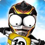 Stickman Downhill Motocross Android thumb