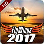 Flight Simulator FlyWings 2017 3.5.5 Apk + Mod + Data for Android
