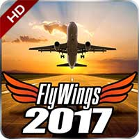 Flight Simulator FlyWings 2017 Android thumb